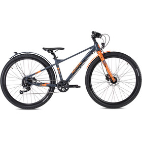 s'cool XXlite EVO Disc 27,5 9-S Dzieci, grey/orange matt
